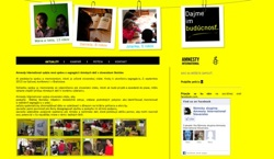 web dizajn Amnesty International